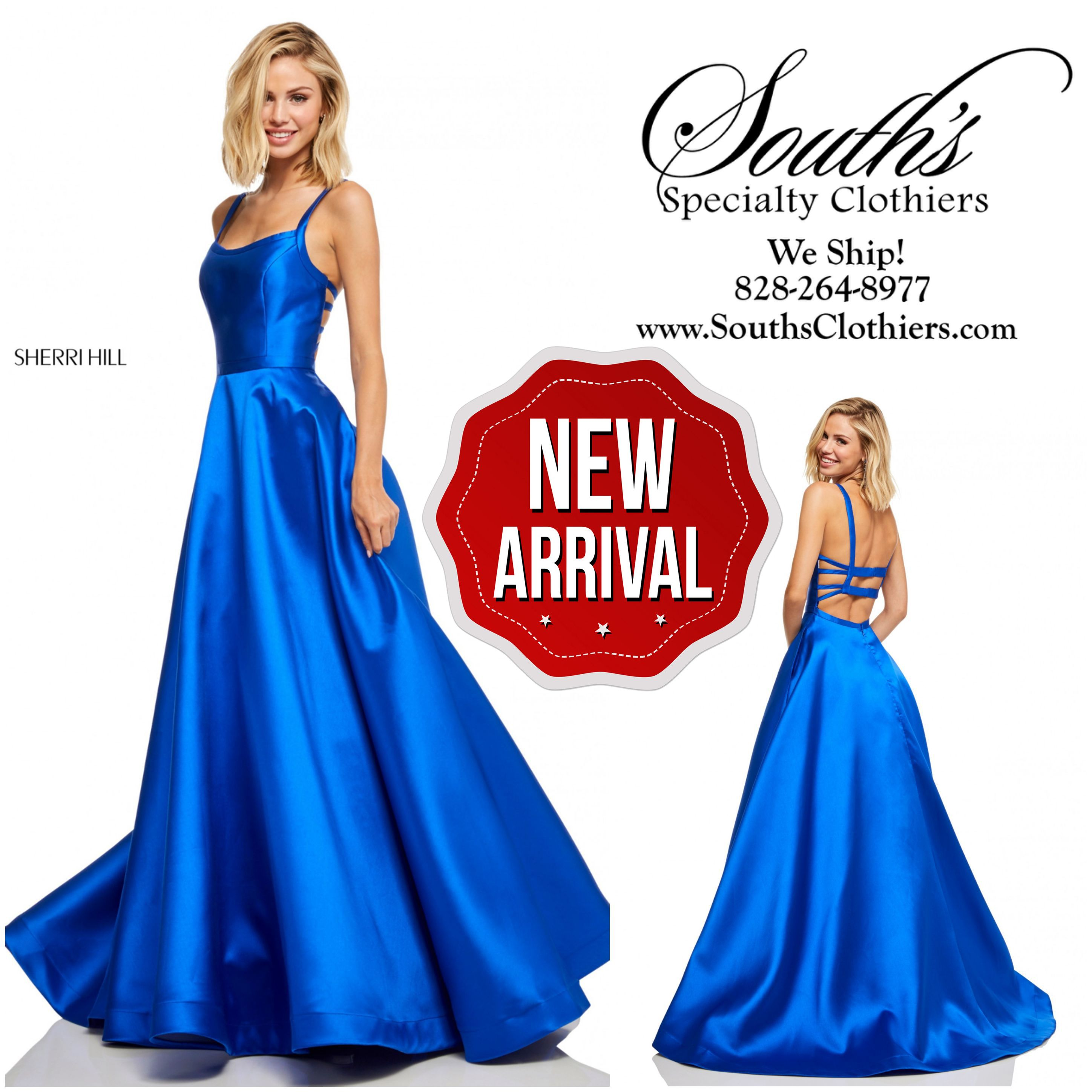 1fd363573bc IN-STOCK! Sherri Hill Style  52715  SouthsClothiers  BooneNC ...