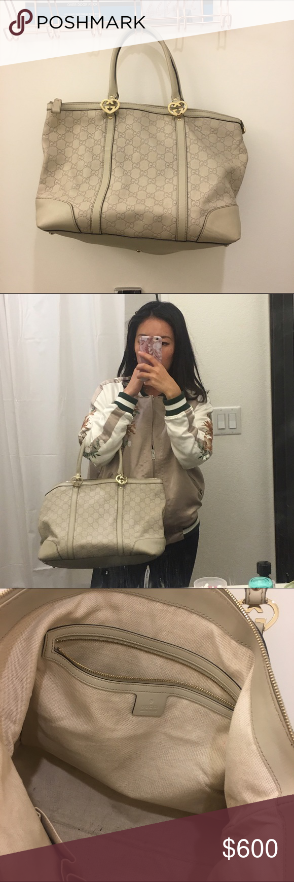 Authentic Gucci bag Barely used Gucci Bags
