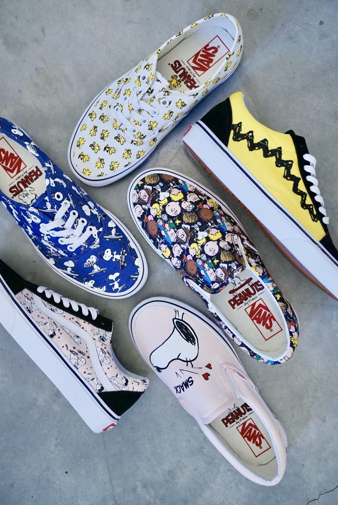 Vans x Peanuts Authentic Skate Shoes