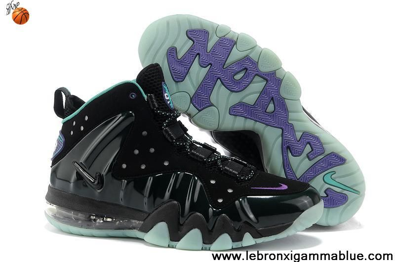 Low Price Nike Barkley Posite Max Black Purple