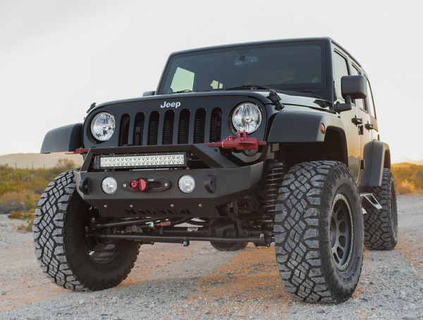 Ici innovative creations ici fbm21jpn rt front bumper with rt ici innovative creations ici fbm21jpn rt front bumper with rt light bar jeep wrangler mozeypictures Choice Image