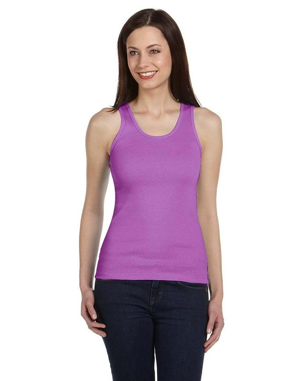 bella ladies' 2x1 rib 5.8 oz cotton tank top *** awesome product