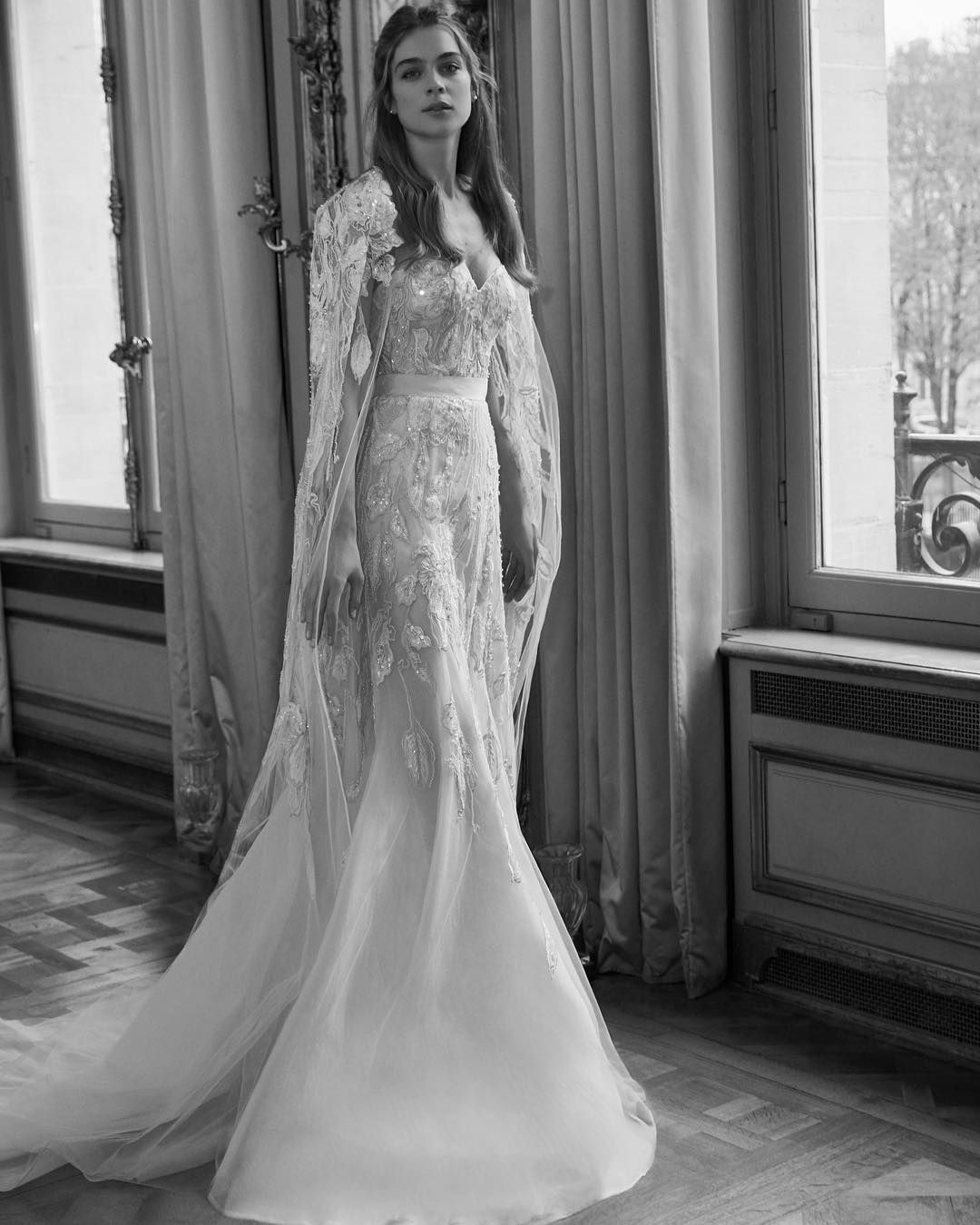 The Bridal Cape Signature Looks From The Elie Saab Bridal Ready
