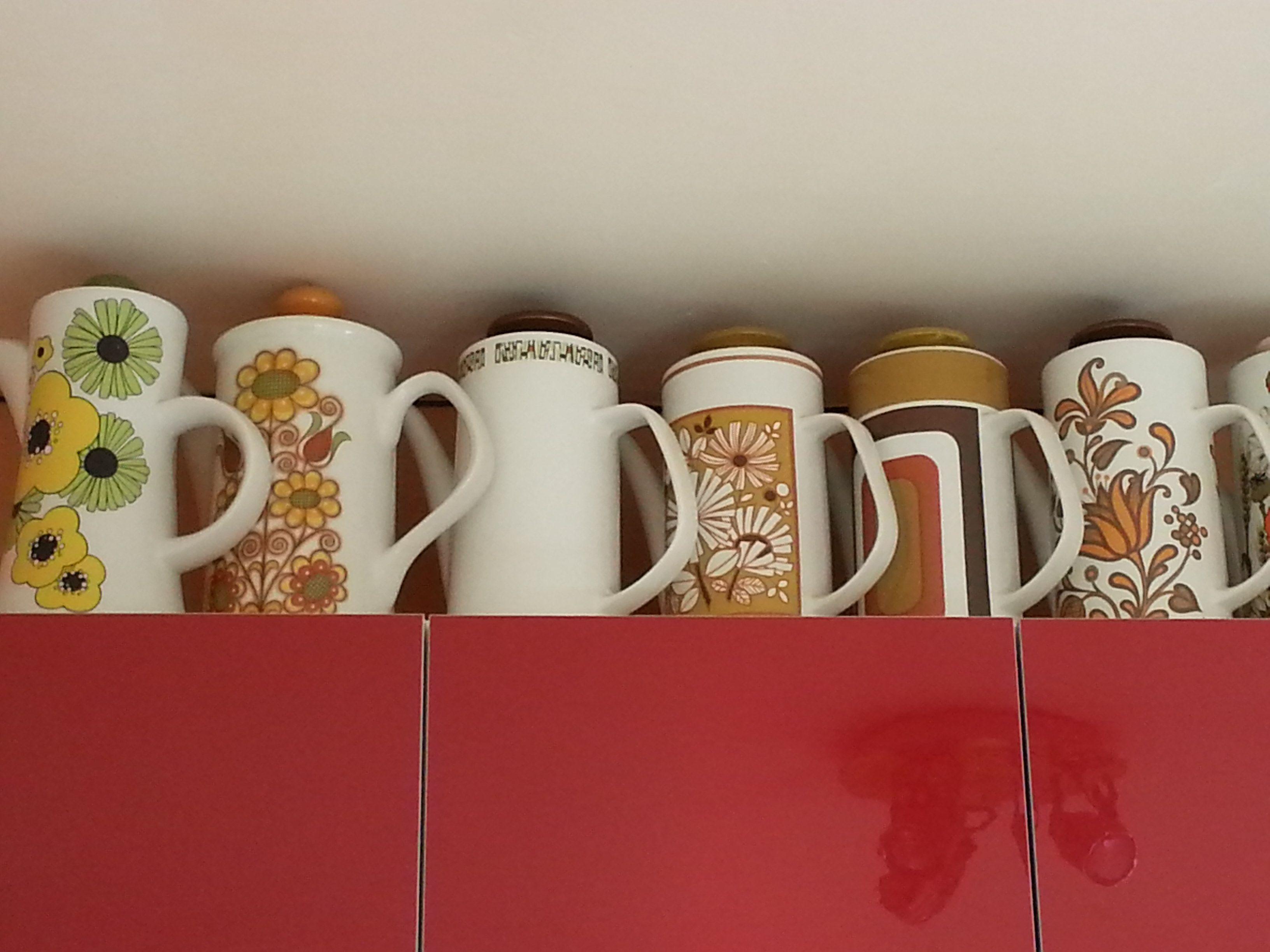 1960's & 70's coffee pots