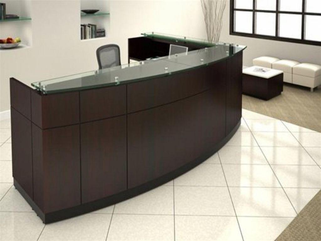 Glas top Rezeption home office Schreibtisch Möbel | Büromöbel ...