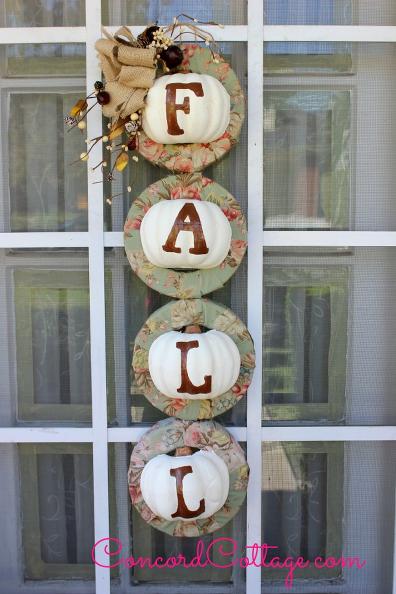 So begrüßt ihr den Herbst ! Schöne Dekorationsideen für den Eingangsbereich.