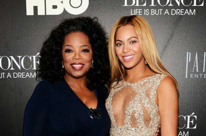 "Beyonce and Oprah sit down and discuss Beyonce's new HBO documentary "" Life is But A Dream ""."