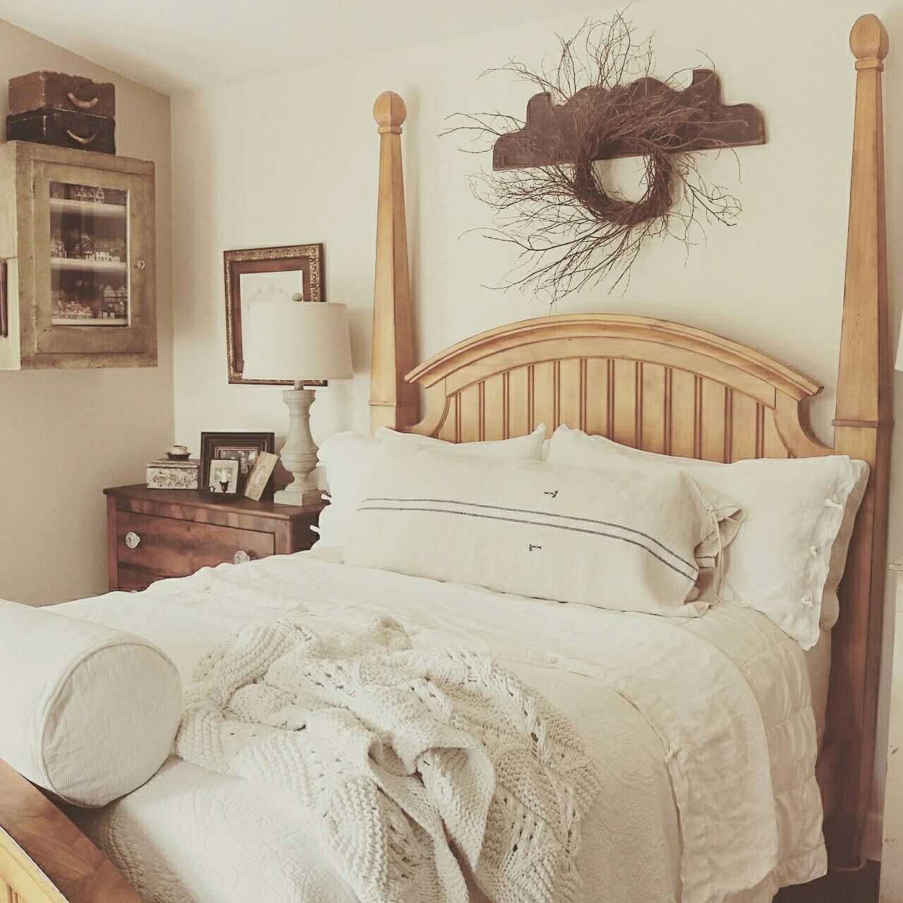 Farmhouse Bedroom At Home on SweetCreek Beautiful bedrooms