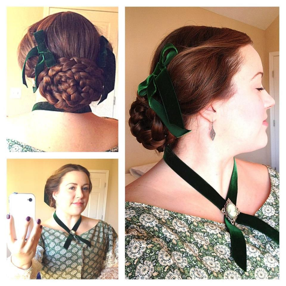 kari elizabeth | long hair│updos. | historical hairstyles