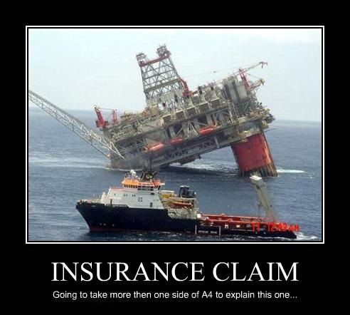 How to explain this one. | Insurance can be funny (no ...