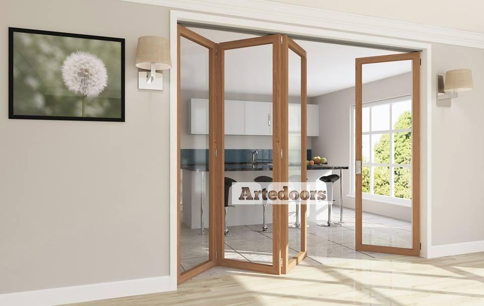 Sistema para puertas correderas plegables interior y - Puertas de madera plegables ...