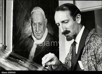 """""""Paul Fitzgerald"""" Famous Australian (Portrait Painter) Realist Artist.: Paul Fitzgerald Famous (Painter)  Painted Queen El..."""