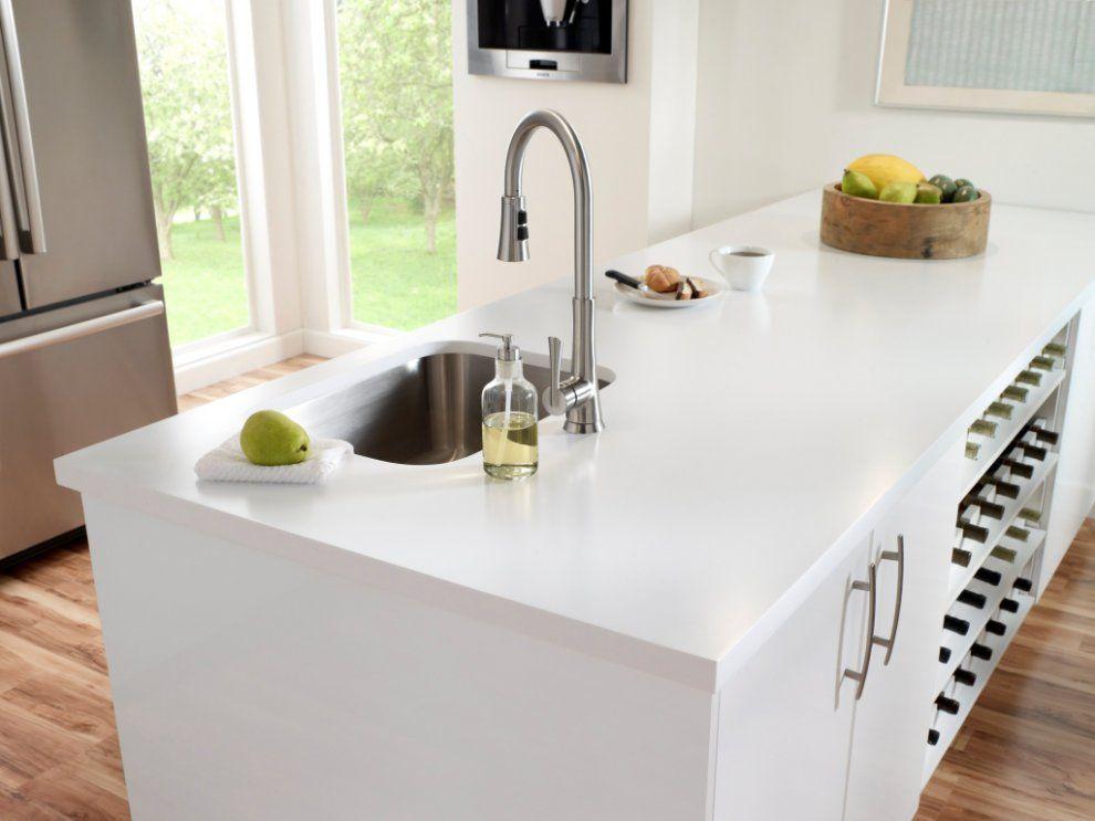 Kitchen Dupont Corian Solid Surfaces Corian Designer White