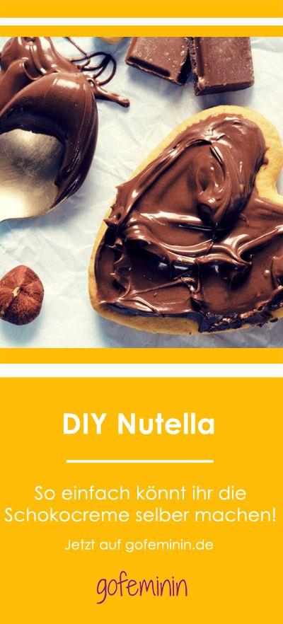 Besser als das Original! So einfach könnt ihr Nutella ...