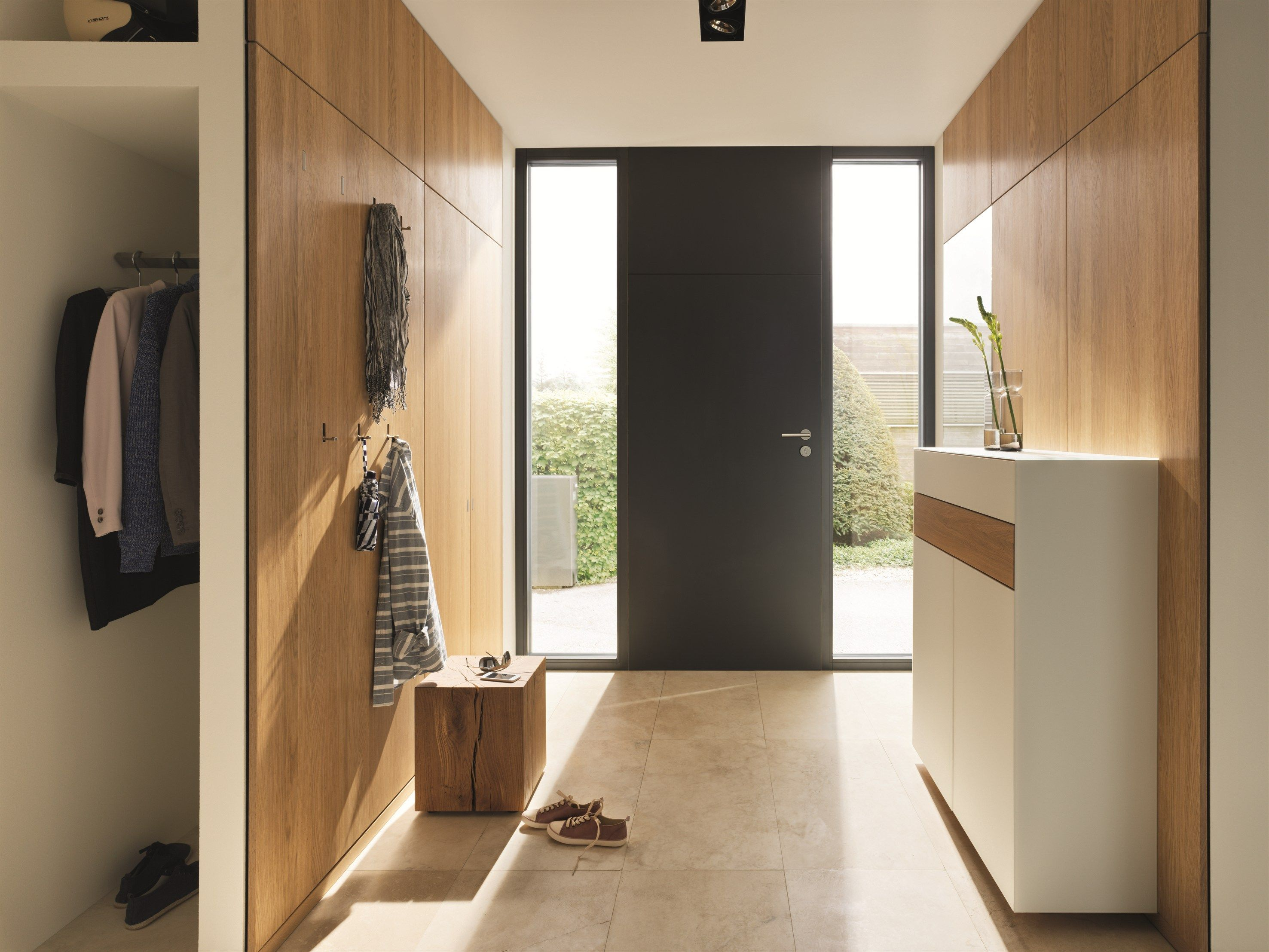 WOODEN HALLWAY UNIT CUBUS PURE CUBUS PURE COLLECTION BY