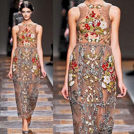 Valentino-Floral-Dress