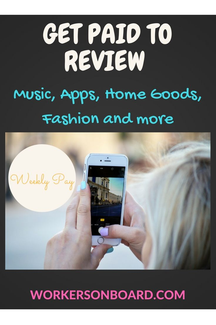 Get paid and work whenever you want to review fashion