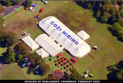 Our massive superior quality tents can support large audiences!