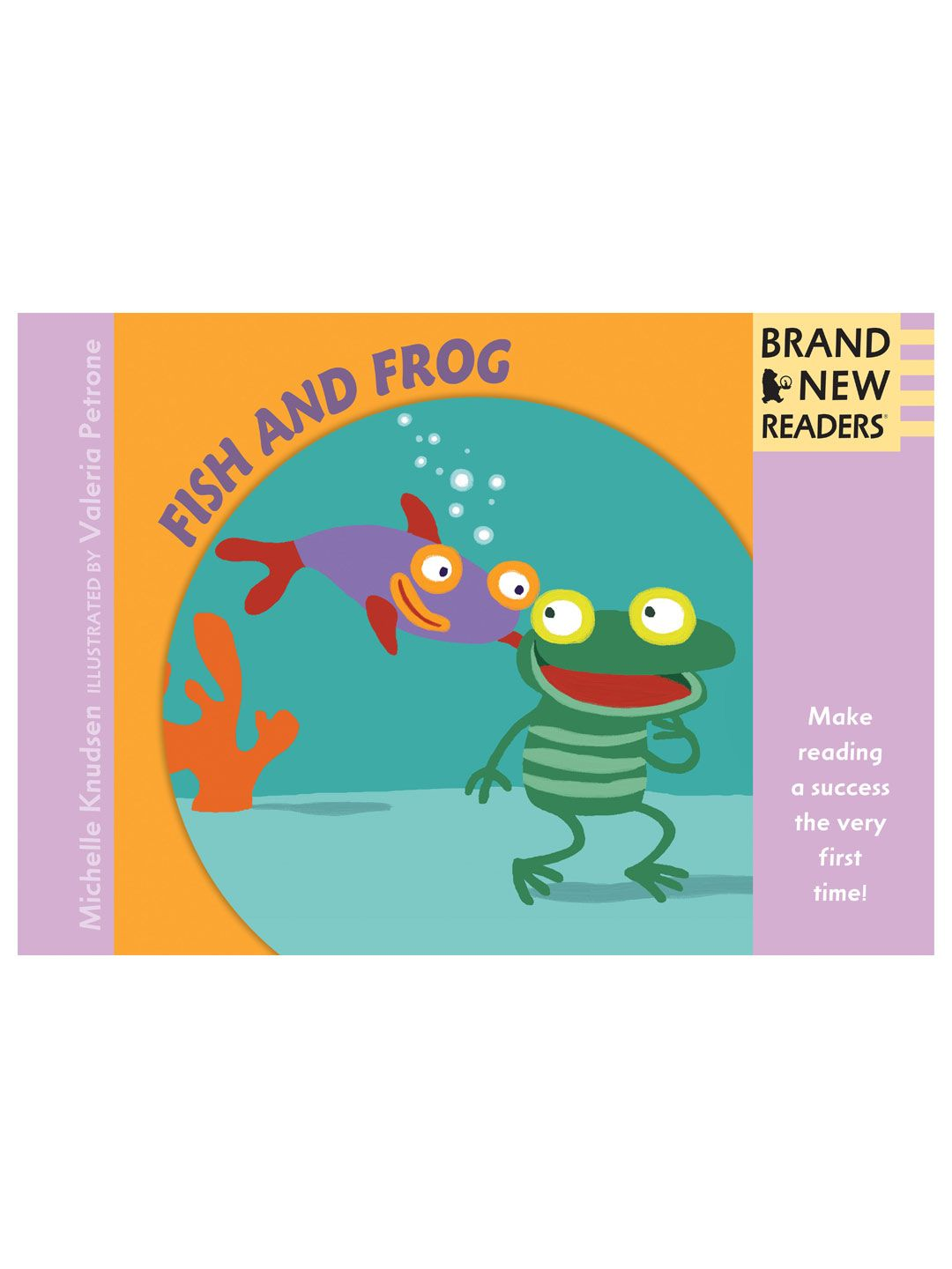 Brand New Readers Fish And Frog Big Book
