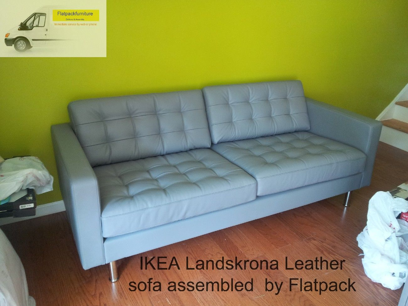 Beautiful IKEA Landskrona Sofa Assembled By Flatpack In Laurel. MD Https://www.