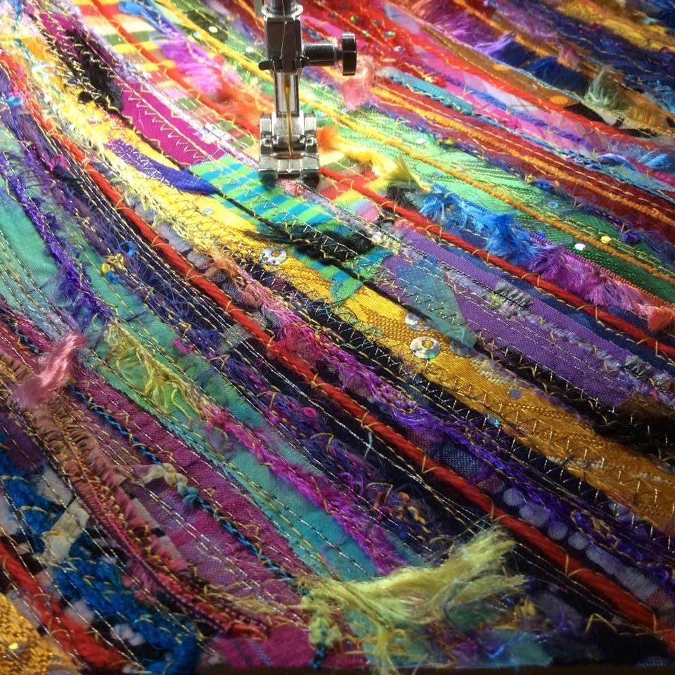 Isobel moore threadnoodle fiber art pinterest