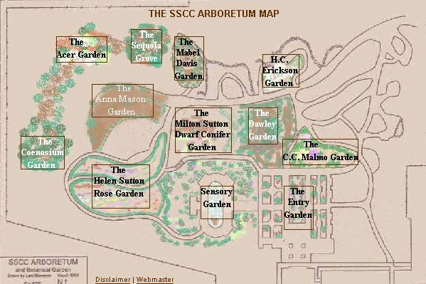 Map of the Arboretum. This is an older map and does not ... Davis Arboretum Map on davis ca map, uc davis parking map, davis greenbelt map, uc davis campus map, uc davis california map, city of davis bike map, davis bike loop map,
