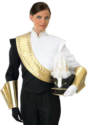 DeMoulin Store - Marching Uniforms - Simple Black - 7-C - Custom