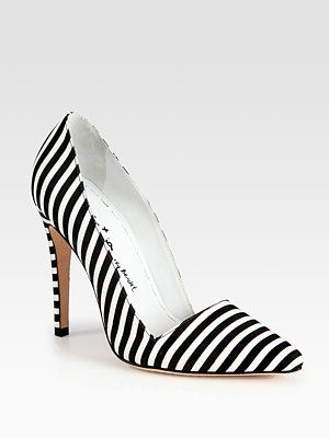 34e3912e67d7 alice + olivia Striped Pumps