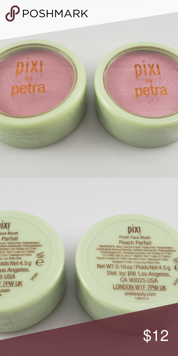 2x Pixi By Petra Fresh Face Blush Peach Parfait 2x Pixi By Petra Fresh Face Blush Peach Parfait Travel Size 0 16 Oz Ipsy Fresh Face Travel Size Products Pixie