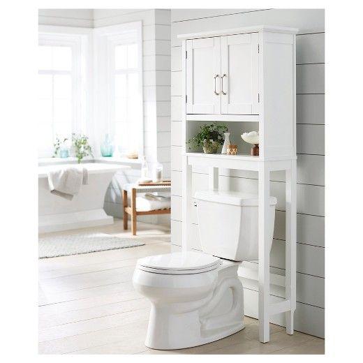 Wood Space Saver Etagere Threshold Target Space Savers Adjustable Shelving Master Bathroom Makeover