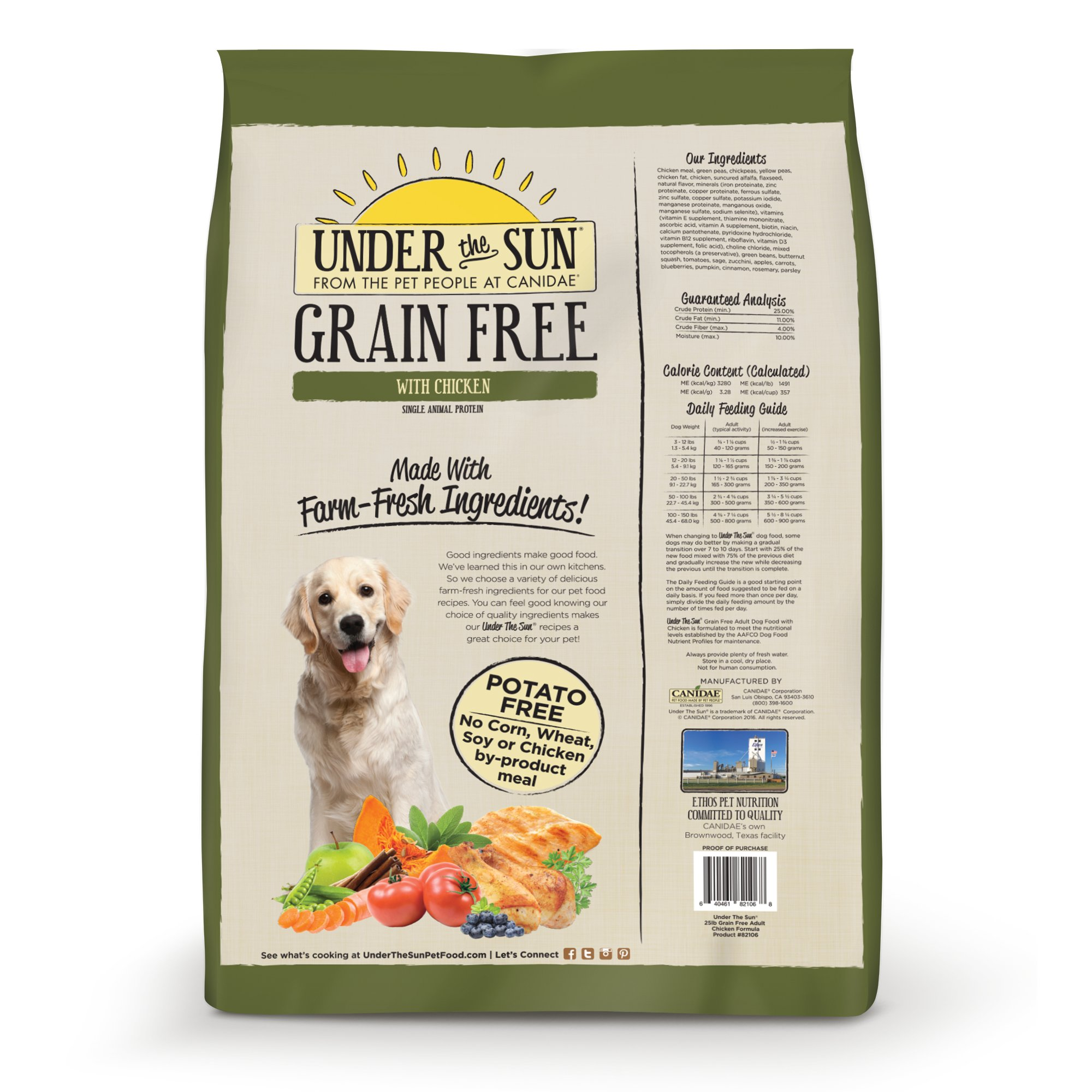 Canidae Under The Sun Grain Free With Chicken Adult Dry Dog Food