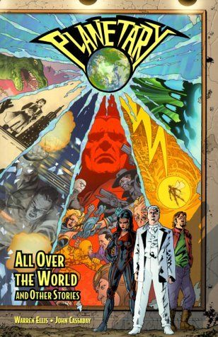 Planetary Vol 1 All Over The World And Other Stories By Warren Ellis Http Www Amazon Com Dp 1563896486 Ref Cm Sw R Comics Graphic Novel Comic Book Covers