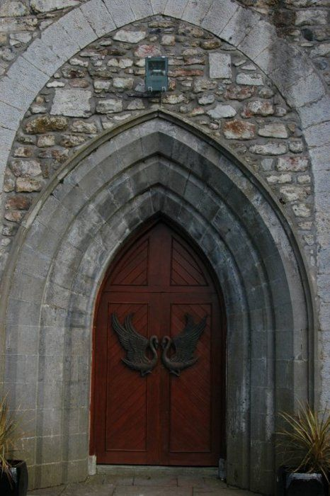 door arched swans Derry Northern Ireland : doors derry - pezcame.com