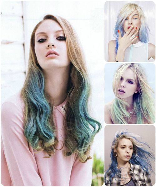 Easy And Best 10 Dip Dye Ombre Color Hair Ideas Without Bleach At