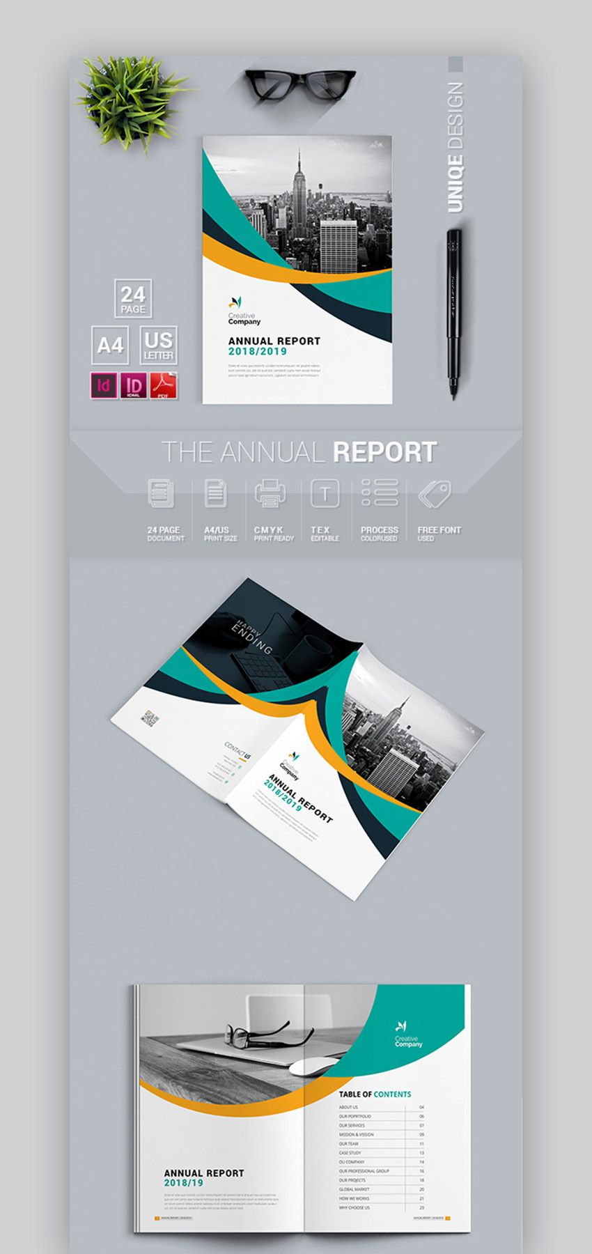 25 Best Business Proposal Templates 2019 Indesign layout