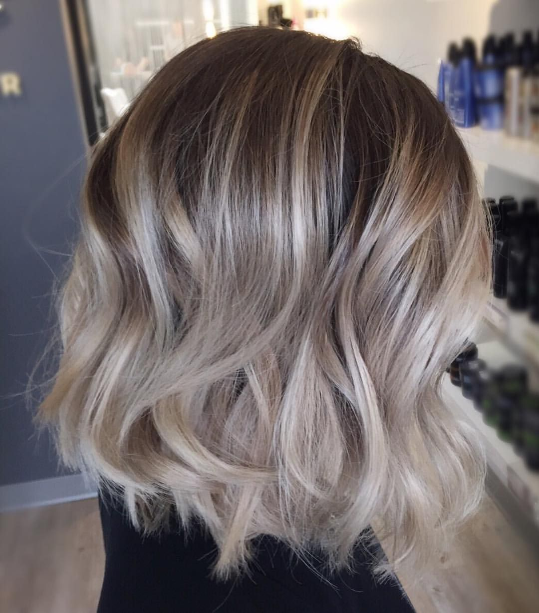 "Bob and Page on Instagram: ""Who wants a #Blonde #Bob #Balayage"