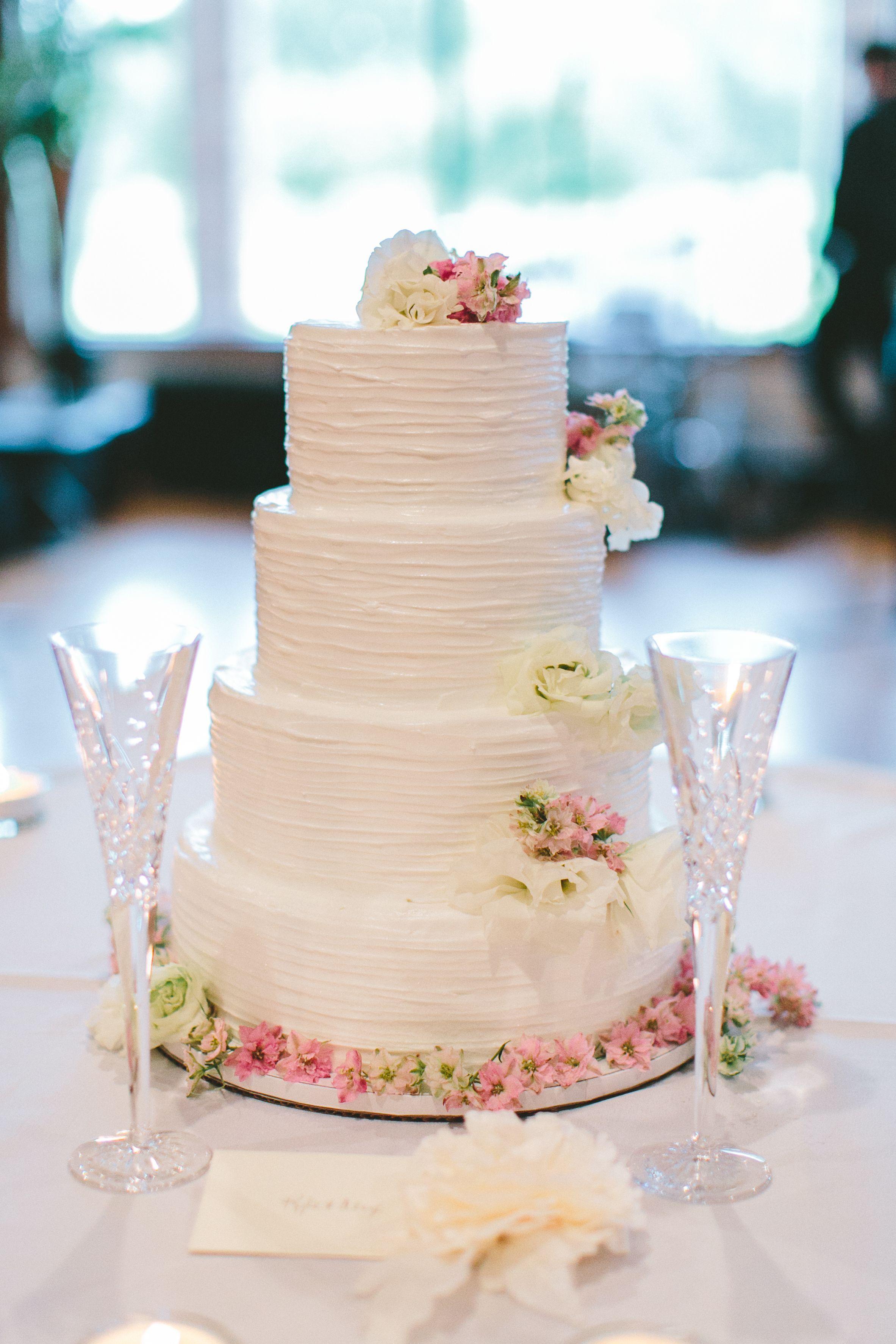 4 Tier Buttercream Wedding Cake, Epping, Essex - Gaynes