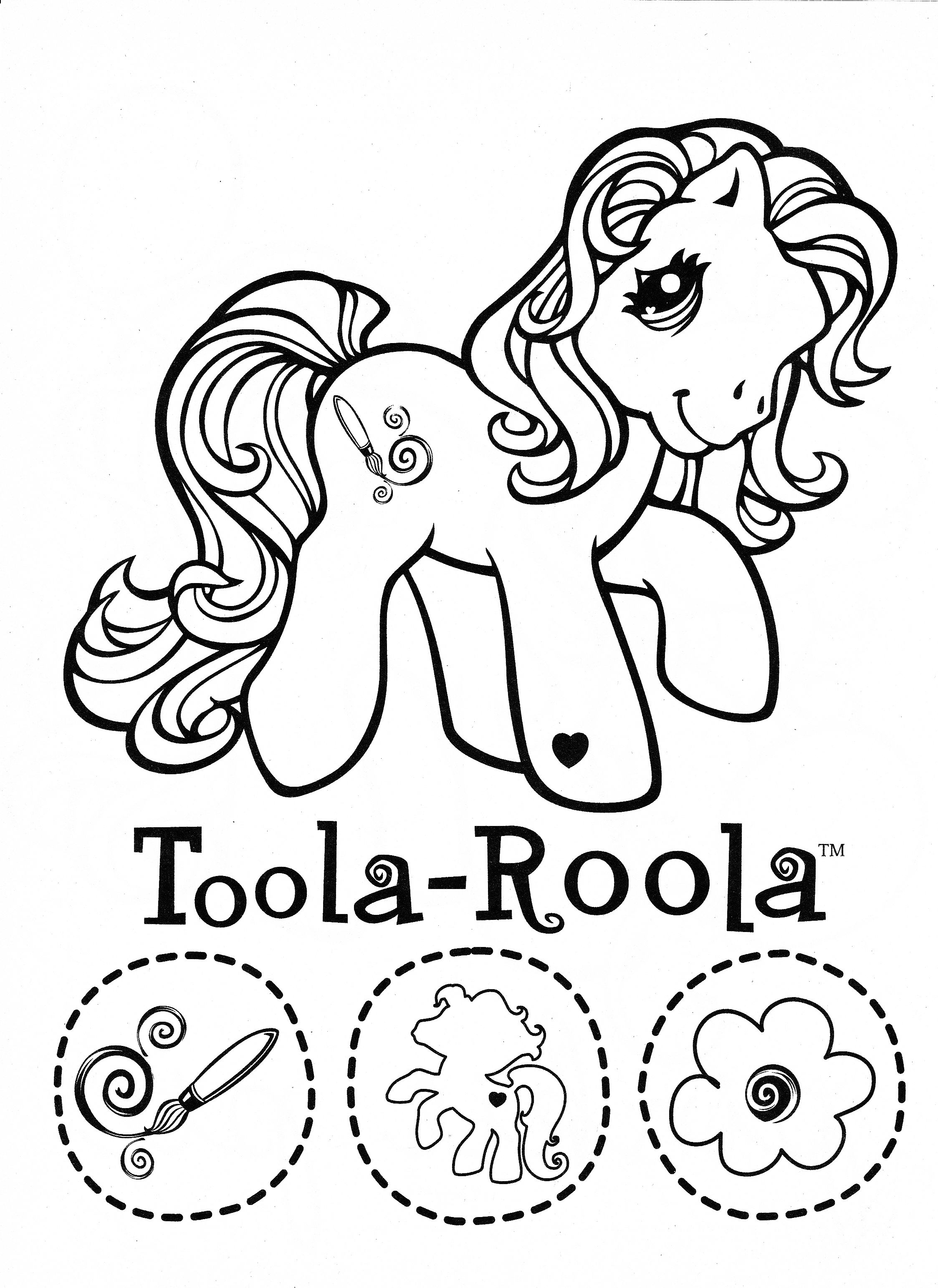 My Little Pony coloring page MLP - Toola-Roola | Coloring pages ...