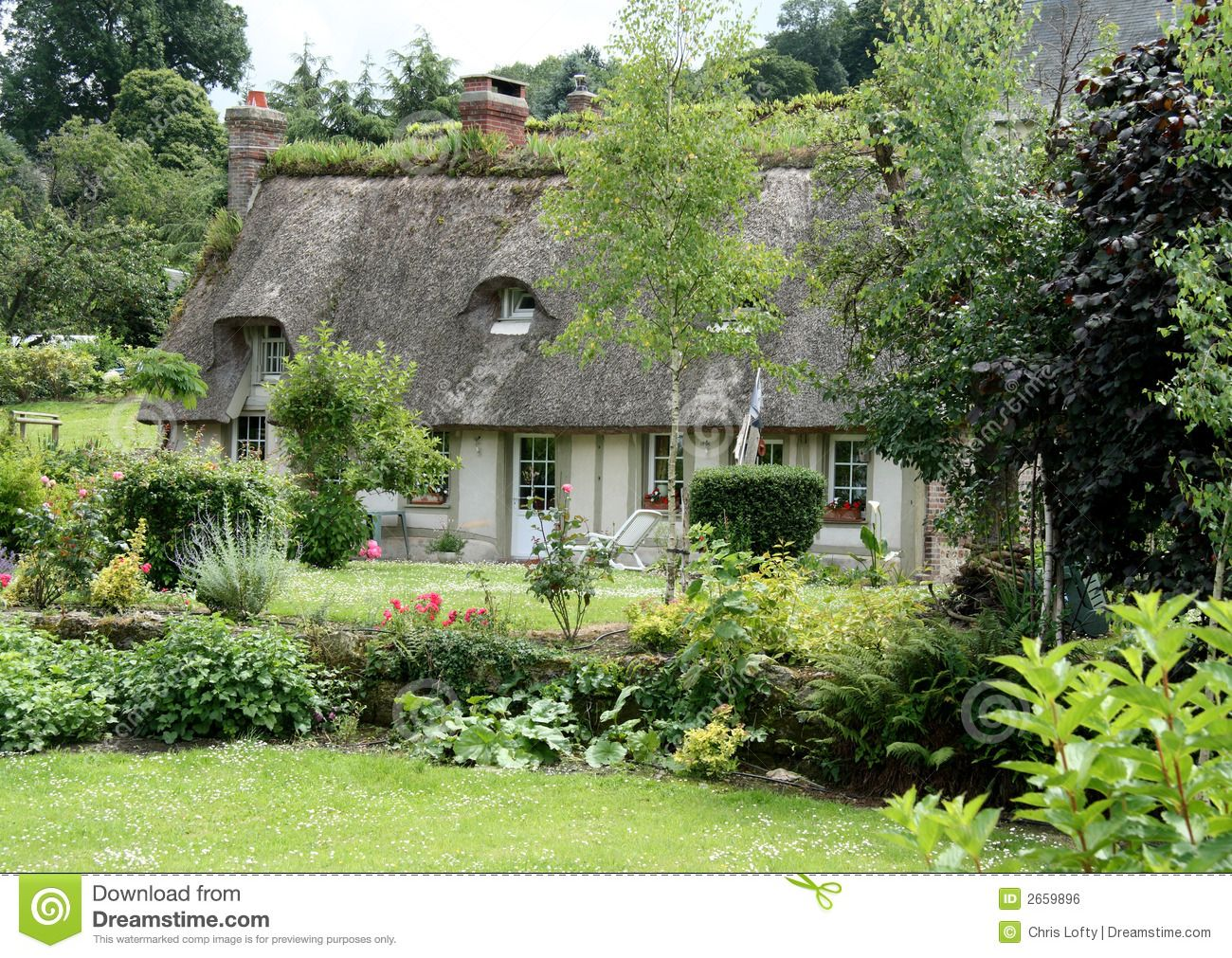 French Country Cottage French Cottage Garden Country Cottage