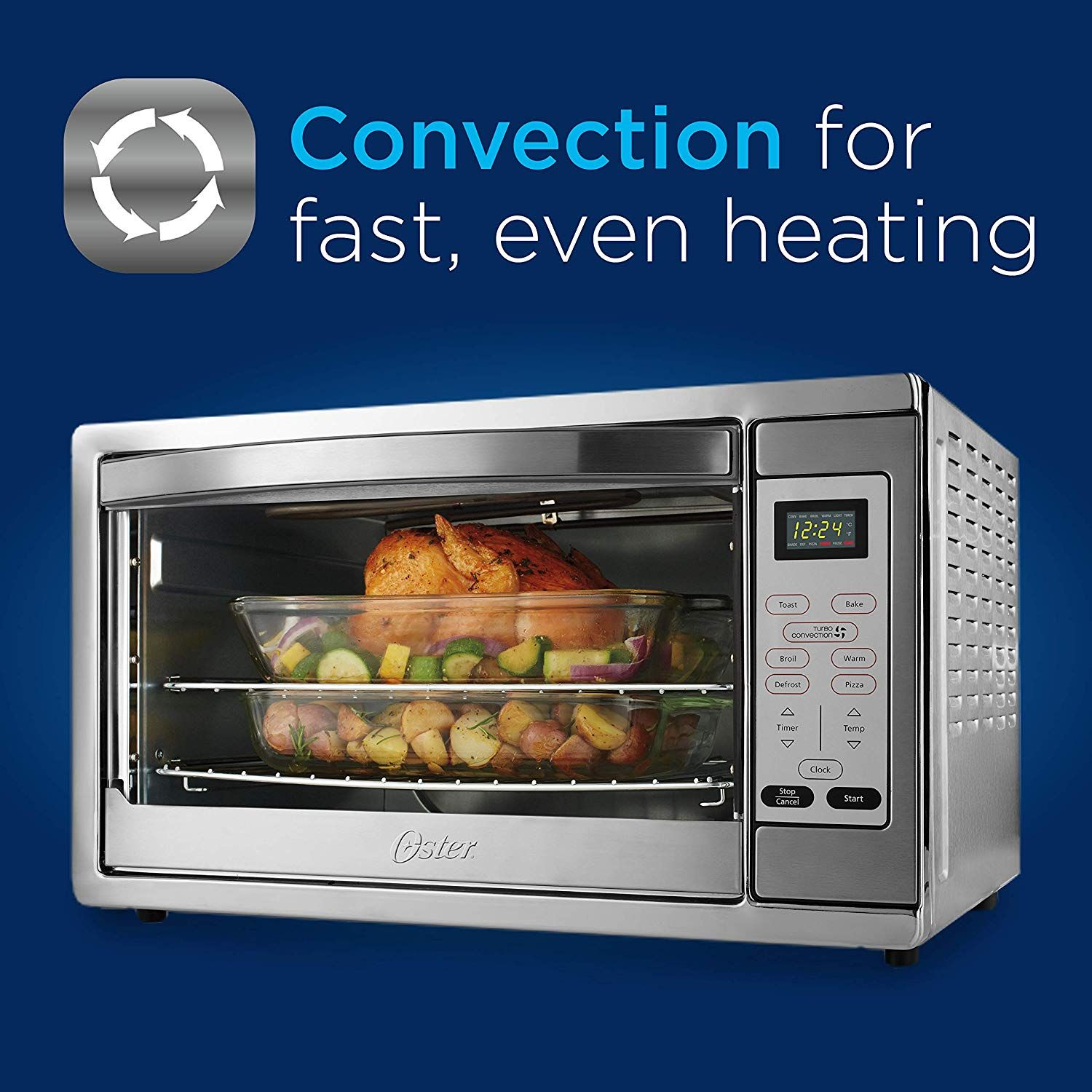 Countertop Convection Oven Features Convection Technology For