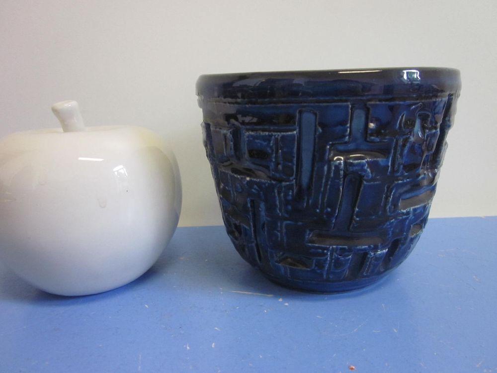 Bitossi Italian art pottery planter Aldo Londi modernist 60s plant pot