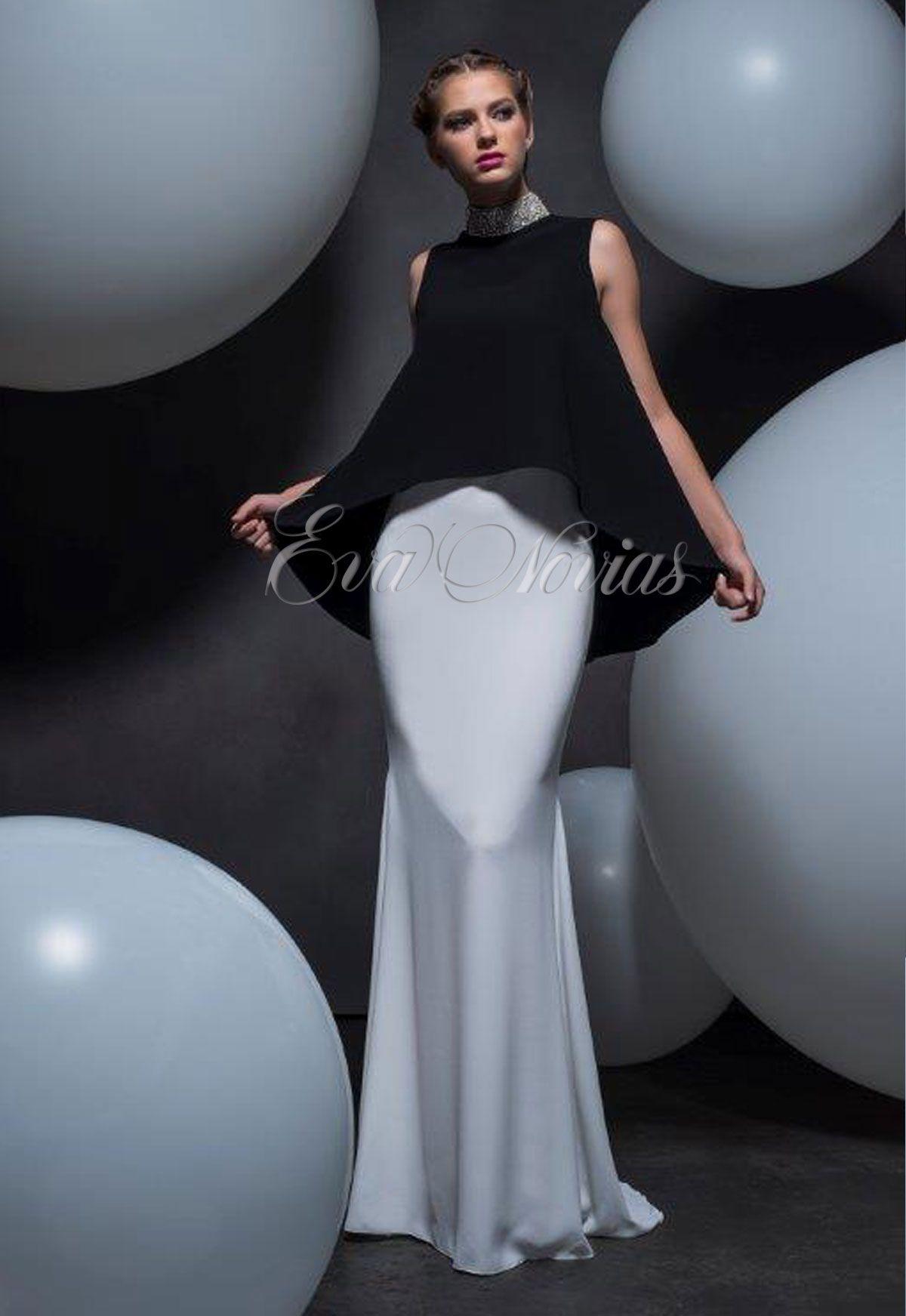 Vestido de fiesta Isabel Sanchis colección 2016 modelo Jerzu en Eva Novias.  #vestido #dress #bridalfashion #fashion #moda #Madrid