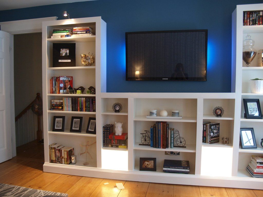Turning IKEA bookshelves into builtins | Pinterest | Soggiorno ...