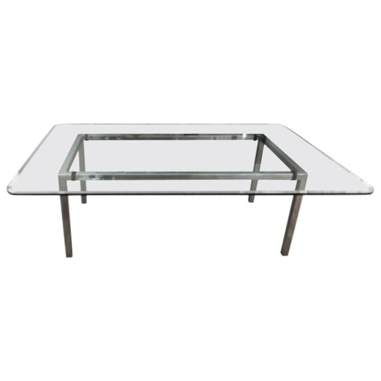Italian Modern Style Large Rectangular Dining Table Dining Table