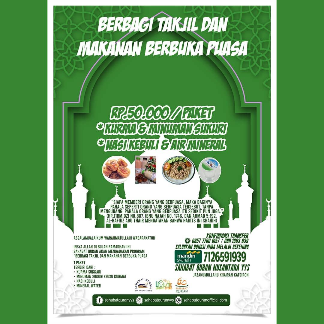 12++ Poster donasi ramadhan info