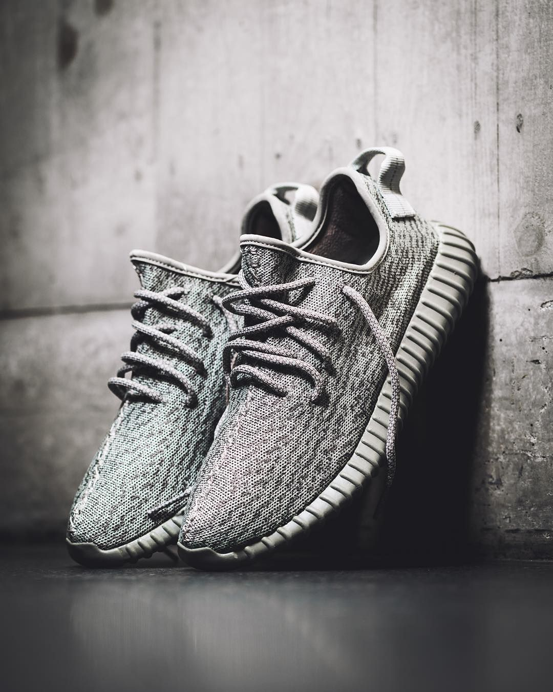 Adidas Yeezy Grey And White