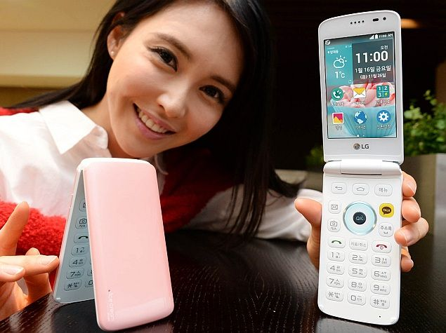 Ice Cream Smart: LG Brings Back the Clamshell Phone