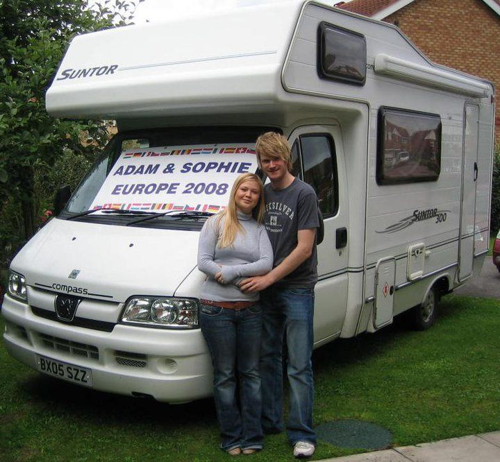 a9c04b30511200 Adam   Sophie s European travels through over 20 countries in their  motorhome. Blog