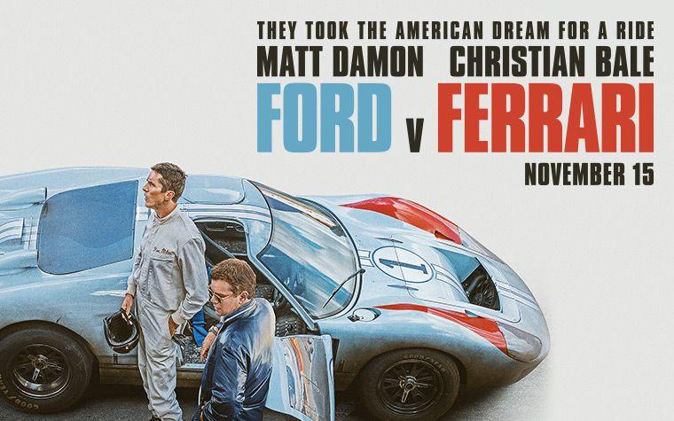 Ford Vs Ferrari Novo Trailer Ferrari Ford Oscar Movies