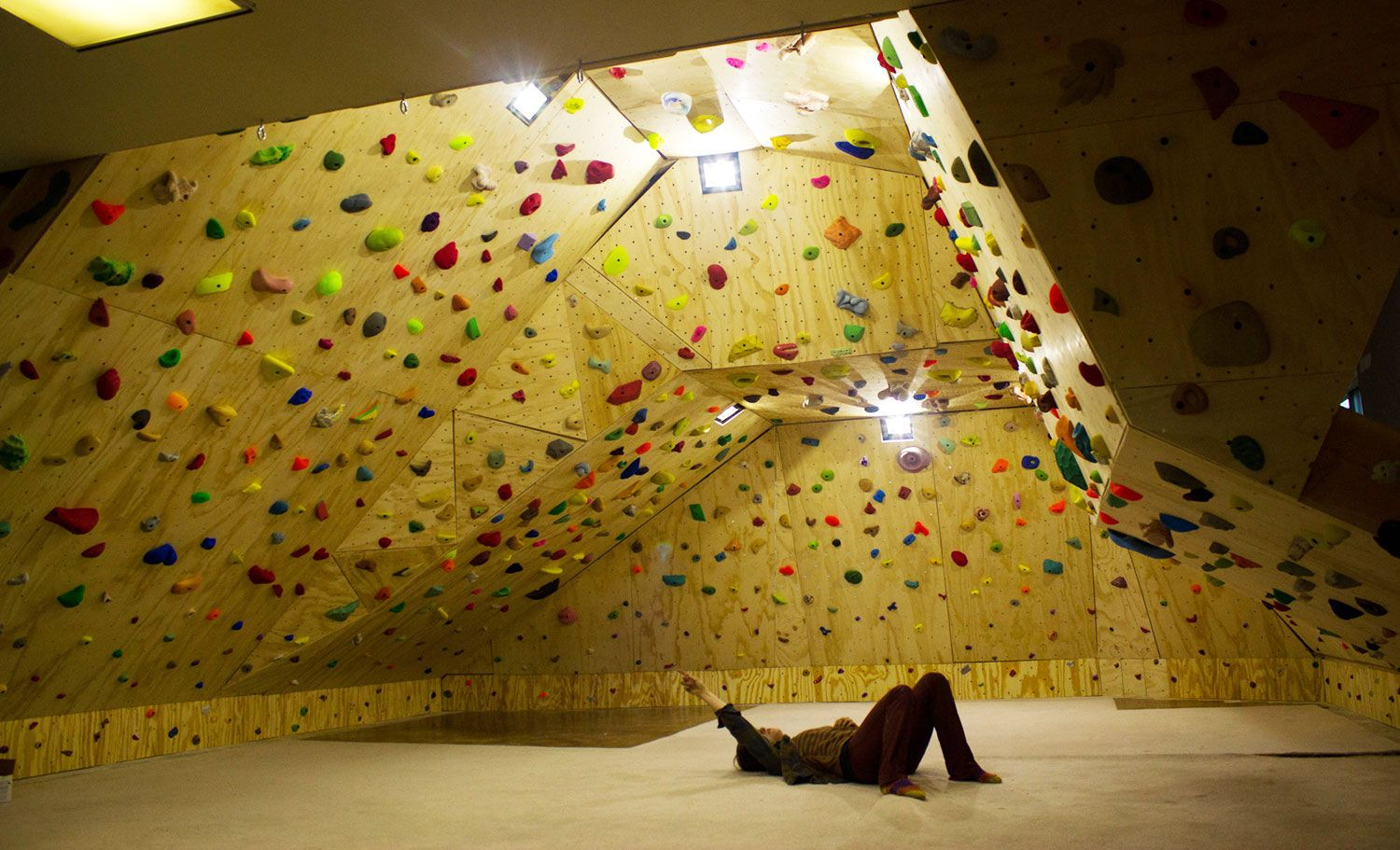 How to Build a Home Climbing Wall | Bouldering wall, Walls and Attic